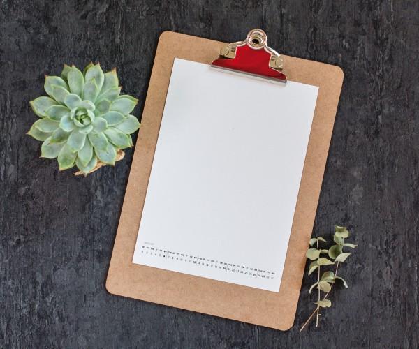 Kalender 2019 - DIN A5 - zum Ausdrucken - PDF-FILE