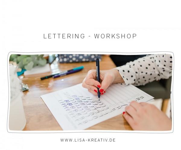 BASIC - Lettering-Workshop | SO, 18. Nov 2018 | 10 Uhr