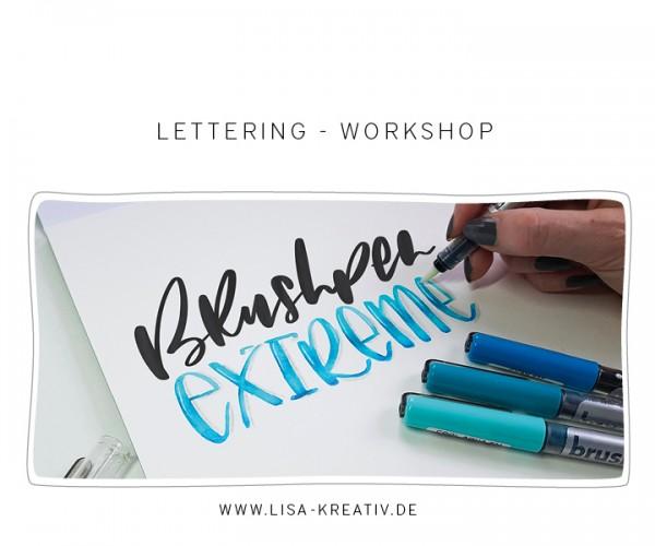 AUFBAU - Lettering-Workshop -   Sa 22. Juni 2019   10-14 Uhr